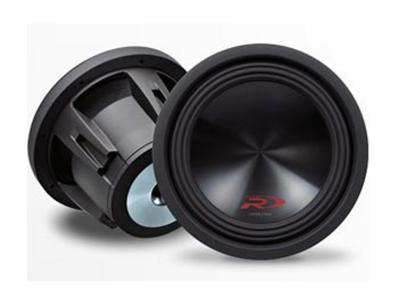 ALPINE  TYPE-R 10 INCH SUBWOOFER WITH DUAL 2-OHM VOICE COILS SWR-10D2