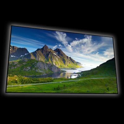"EluneVision 100"" 16:9 Reference 4K SLIM slim Fixed Frame Screen - EV-S-100-1.0"