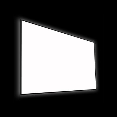 "EluneVision 115"" 16:9 Reference 4K SLIM slim Fixed Frame Screen - EV-S-115-1.0"