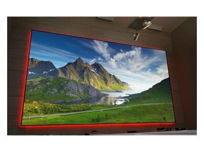 "EluneVision 110"" 16:9 Aurora NanoEdge AudioWeave 4K Frame - EV-ZAWL-110-1.15"