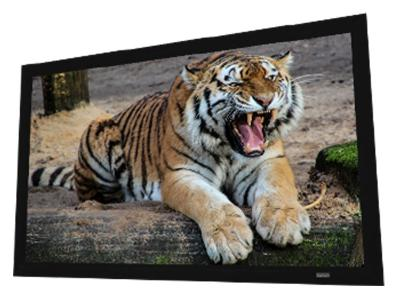 "EluneVision 135"" 16:9 Reference Studio 4K AudioWeave Fixed-Frame Screen - EV-F3AW-135-1.15"