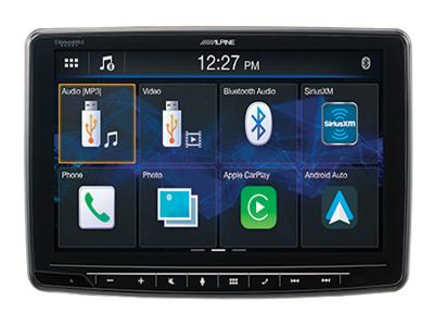 "9"" Alpine Halo9  Apple CarPlay and Android Auto - ILX-F259"