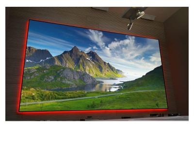 "EluneVision 100"" 16:9 Aurora NanoEdge Reference 4K Fixed-Frame Screen - EV-ZL-100-1.0"