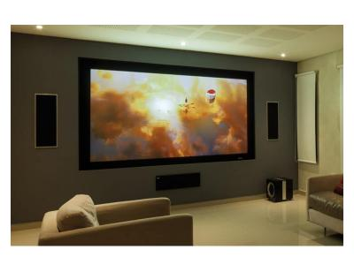 "EluneVision 108"" 16:9 Reference Studio 4K AudioWeave Fixed-Frame Screen - EV-F3AW-108-1.15"