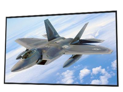 "EluneVision 135"" 16:9 Reference 4K SLIM slim Fixed Frame Screen - EV-S-135-1.0"