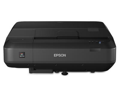 EPSON Home Cinema LS100 Full HD 3LCD Ultra Short-throw Laser Projector - V11H879520-F