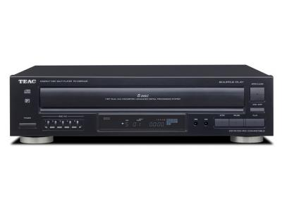 Teac 5 Disc Carousel CD Changer with Remote - PD-D2610MKII