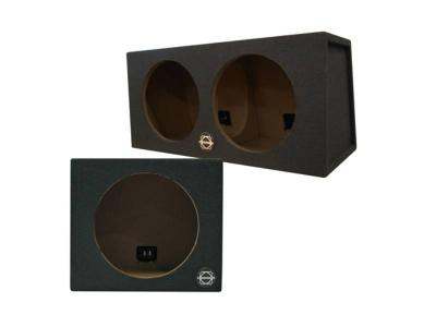 Bassworx Dual Street Wedge Series Sealed Subwoofer Enclosure - SW212B
