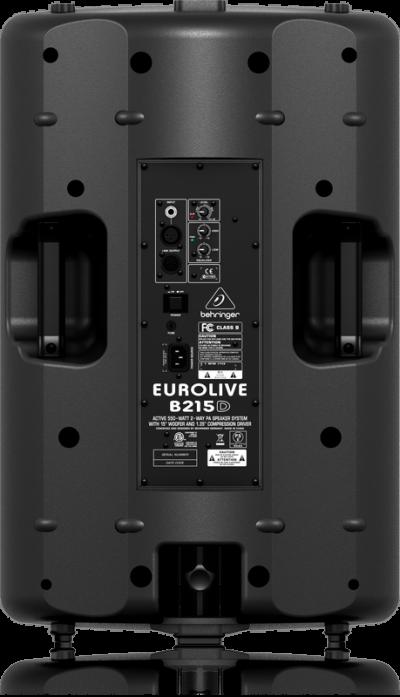 Behringer B215D 2-Way Active Loud Speaker (Black) - Eurolive B215D