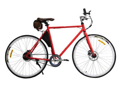 Daymak Electrical Bicycle With Front And Rear Disc Brakes In Red - VERMONT 36V (R)