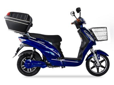 Daymak Electric Scooter With Solar Case In Blue - Sunshine (Bl)