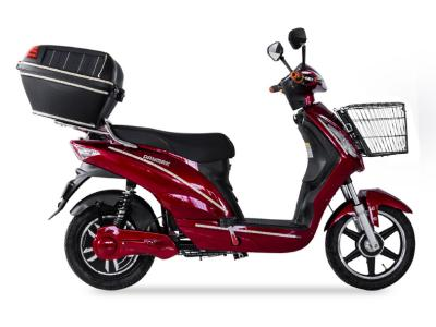 Daymak Electric Scooter With Solar Case In Red - Sunshine (R)