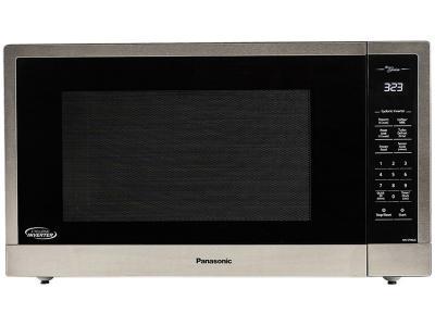"""24"""" Panasonic 2.2 Cu. Ft. Countertop Microwave In Stainless Steel - NNST96JS"""