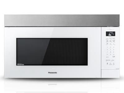 "30"" Panasonic Genius Inverter Over-the-Range Microwave Oven - NNST27HW"