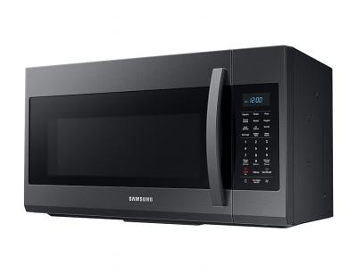 Samsung 1.9 cu. ft. Over The Range Microwave (Black Stainless Steel) - ME19R7041FG