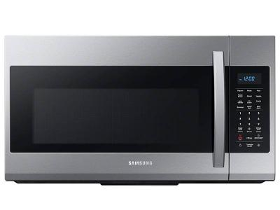 """30"""" Samsung  1.9 Cu. Ft. Over The Range Microwave In Stainless Steel - ME19R7041FS"""