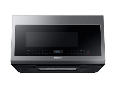 Samsung Over The Range With Glass Touch Bottom Control, 2.1 Cu.Ft ME21M706BAS