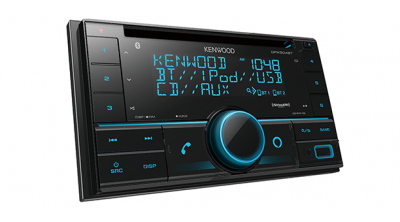 Kenwood 2-Din CD Receiver With Bluetooth - DPX504BT
