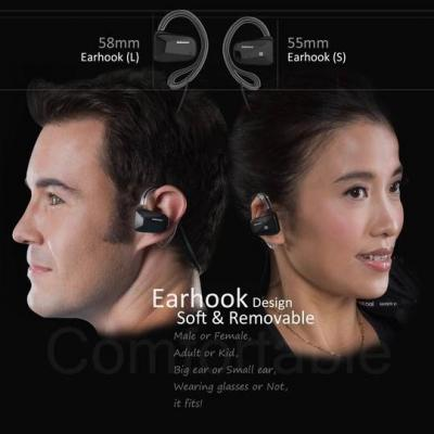 Jabees Bluetooth Sport Headphones with Aptx and Nfc - BSport (B)