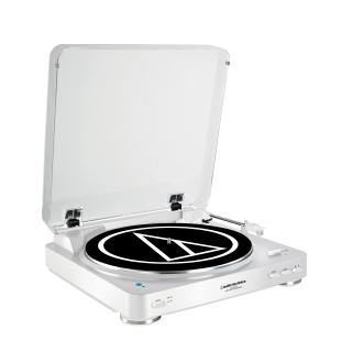 Audio-Technica Fully Automatic Wireless Belt-Drive Stereo Turntable - AT-LP60WH-BT