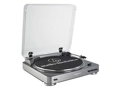 Audio-Technica Fully Automatic Belt-Drive Stereo Turntable - AT-LP60