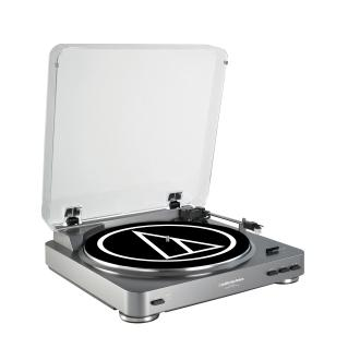 Audio-Technica Fully Automatic Belt-Drive Stereo Turntable (USB & Analog) - AT-LP60-USB