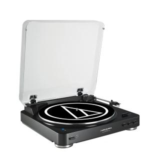 Audio-Technica Fully Automatic Wireless Belt-Drive Stereo Turntable - AT-LP60BK-BT