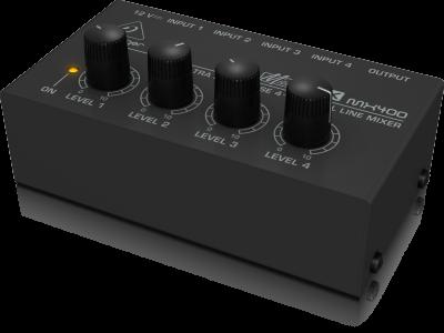 Behringer Ultra Low-Noise 4-Channel Line Mixer - MX400