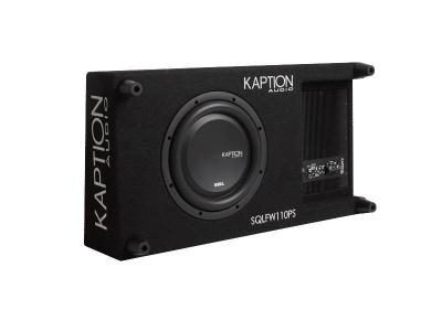 Kaption Audio SQL Series Flat Powered SubWoofer - 570-SQLFW110PS