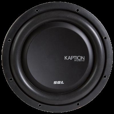 Kaption Audio SQL Series Flat SubWoofer 400 Watt RMS Dual 4 Ohms - 570-SQLFW10D4
