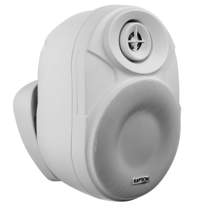 Kaption Audio 6.5 Inch Indoor/Outdoor Bluetooth Speakers In White - 570-OSB650WH