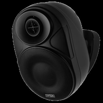 Kaption Audio 6.5 Inch Indoor/Outdoor Bluetooth Speakers In Black - 570-OSB650BK
