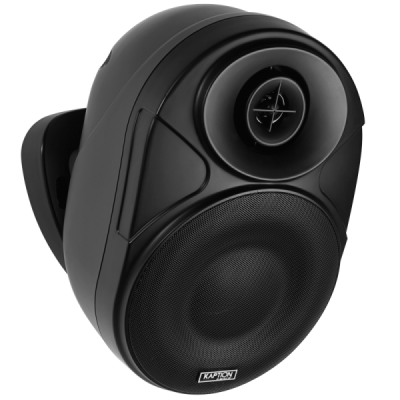Kaption Audio 6.5 Inch Indoor/Outdoor Weather Resistant Speakers In Black - 570-OS650BK
