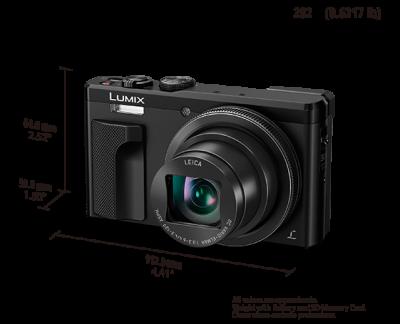 Panasonic 30x Zoom Travel Camera with 4K - DMCZS60(B)