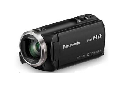 Panasonic 4k,Hd Camcorder with 90x Intelligent and 50x Optical Zoom  - HCV180