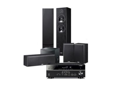 Yamaha 5.1 Channel Network Home Theatre Package with Musiccast And Dolby Vision - YHTB4850X