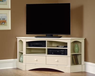 Sauder Harbor View Corner Entertainment Credenza TV Stand - 402905