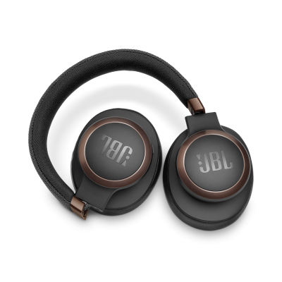 JBL Wireless Over-Ear NC Headphones - Live 650BTNC (B)