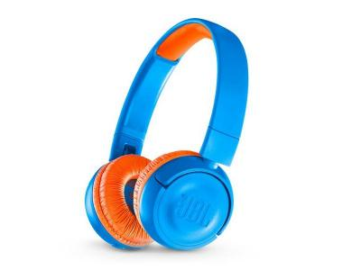 JBL Kids Wireless On-Ear Headphones - JR300BT (Bl)