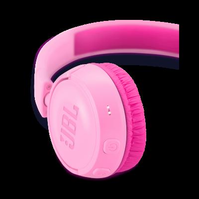 JBL Kids Wireless On-Ear Headphones - JR300BT (P)