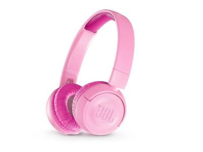 JBL Kids Wireless On-Ear Headphones - JR300BT (P)