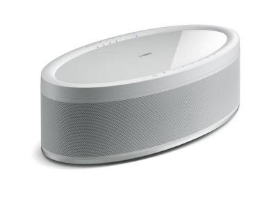 Yamaha Wireless Speaker, Alexa Voice Control In White  - MusicCast 50 (W)