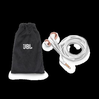 JBL Tune 205 Earbud Headphones - JBLT205RGDAM