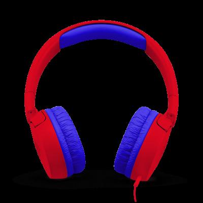 JBL JR300 Kids On-Ear Headphones - JBLJR300REDAM