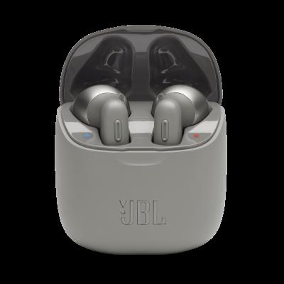 JBL TUNE 220TWS True Wireless Earbuds - JBLT220TWSGRYAM