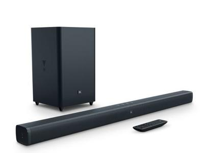 JBL 2.1-Channel Soundbar with Wireless Subwoofer Bar2.1 - JBLBAR21BLKAM