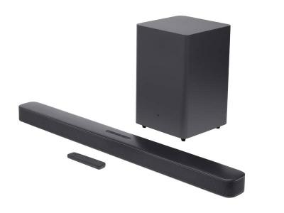 JBL Bar 2.1 Deep Bass 2.1 Channel Soundbar with Wireless Subwoofer - JBL2GBAR21DBBLKAM