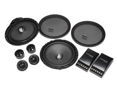 "Kaption Audio 6.5"" SRX Component System Speakers with 12 dB 2-way Crossover-570-SRX-C652"