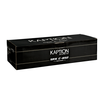 """Kaption Audio 6.5"""" SRX Component System Speakers with 12 dB 2-way Crossover-570-SRX-C652"""