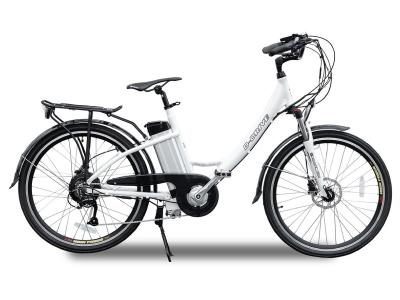 Daymak Electrical Bicycle With 48V Removable Lithium Battery In White - Paris 48 (W)
